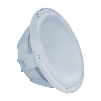 Wet Sounds REVO 10 FA S4-W White Free Air 10 Inch 4 Ohm Subwoofer, Grill sold seperately