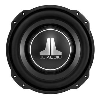 JL Audio 10TW3-D8 10-inch thin-line subwoofer driver (400W, dual 8 ohm voice coils)