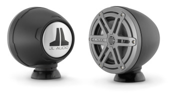 JL Audio PS-SWMCP-B-SM: Black Anodized VeX Enclosed Speaker System Surface Mount Fixture