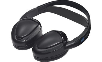 Audiovox MTGHP2CA DUAL Channel Fold-Flat Headphone in Clamshell Packaging Movies 2 Go Branded