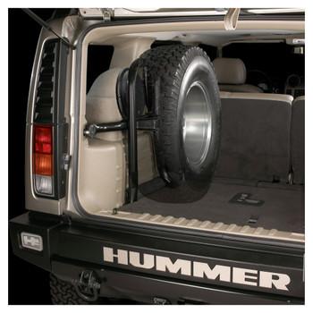 JL Audio SB-GM-HUMRH2/12W6v3/DG:Stealthbox® for 2003-2007 Hummer H2 with Ebony interior