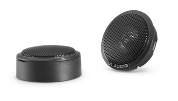 JL Audio C1-075ct 0.75-inch (19mm) Aluminum Dome Tweeter with neodymium magnet Inline high-pass filter included