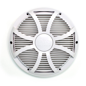Wet Sounds REVO 10 SW-W GRILL White SW Closed Style Grill for the REVO 10 Inch Marine Subwoofer