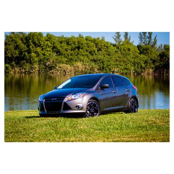 JL Audio SB-F-FOC5DR/10TW3:Stealthbox® for 2012-Up Ford Focus 5-Door Hatchback