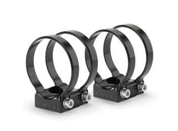 JL Audio PS-SWMCP-B-2.500 Pipe Mounting Fixtures (Swivel) for VeX Speaker Systems. Clamps have inner-diameter of 2.500""