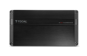 Focal FPX5.1200 5 Channel amplifier, 4 x 75w and 1 x 700w, Class D