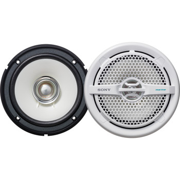 Sony XS-MP1611 6.5 in (16 cm) Dual-Cone Marine Speaker (Pair)