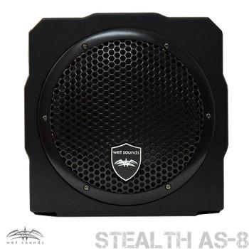 Wet Sounds Stealth AS-8 350 watt Active Subwoofer Enclosure