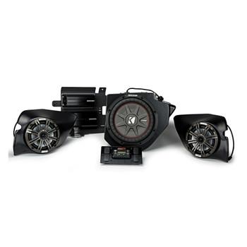 Kicker & SSV Works 44PRZ33 800 Watt, 3 Speaker, Plug And Play Polaris RZR Stereo System - Fits 2013-2018 Polaris RZRs