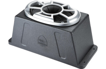 Wet Sounds REV 6x9-SM-B REV Series 6x9 HLCD w/ Surface Mountable Roto-mold Enclosures & Grille - Black (pair)