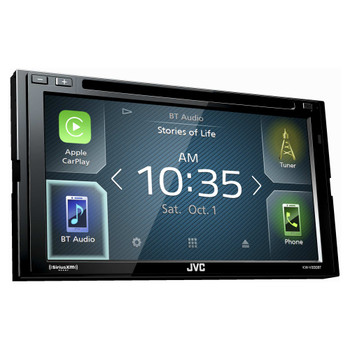 JVC KW-V830BT Refurbished compatible with Android Auto / CarPlay CD/DVD Stereo