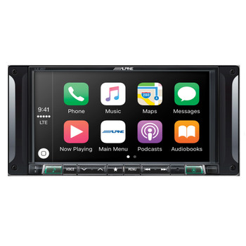 Alpine i207-WRA 7-Inch Restyle Dash System Compatible with CarPlay for Jeep Wrangler 2007-2017