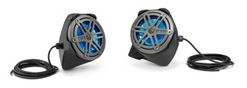 JL Audio Stealthbox® MX650 Speaker Pods for 2016-Up Yamaha YXZ1000R