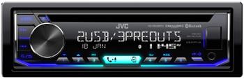 JVC KD-R995BTS CD Receiver featuring Bluetooth® / Front&Rear Dual USB / SiriusXM Ready / Pandora / iHeartRadio / Spotify
