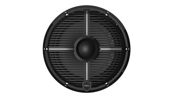 Wet Sounds REVO 8-XWB Black Closed XW Grille 8 Marine LED Inch Coaxial Speakers (pair)