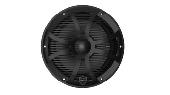 Wet Sounds REVO 8-SWB Black Closed SW Grille 8 Inch Marine LED Coaxial Speakers (pair)