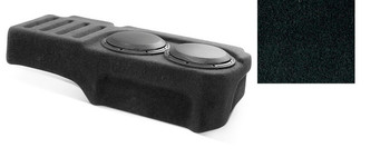 JL Audio SB-GM-SLVEXT2/10W1v3/DG: Stealthbox® for 2007-2013 Chevrolet Silverado / GMC Sierra Ext Cab Trucks with Ebony interior
