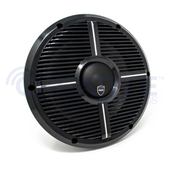 Wet Sounds REVO 10CX XW-B Black XW Grill 10 Inch Marine High Performance LED Coaxial Speakers (pair)