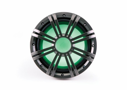 Kicker 10 Inch KM-Series Marine 4 Ohm Subwoofer 41KMW104LC with Free LED Remote Controller