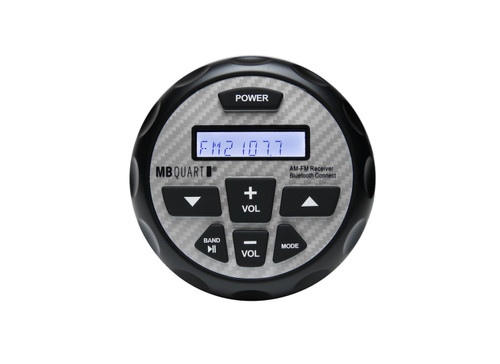 MB Quart GMR-2.5 Waterproof AM/FM Powered Bluetooth Controller compatible with Apple Control