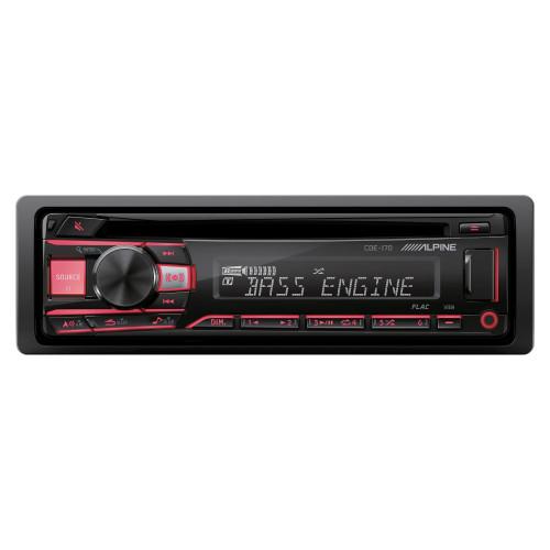Alpine CDE-170 CD/MP3/WMA And USB Receiver