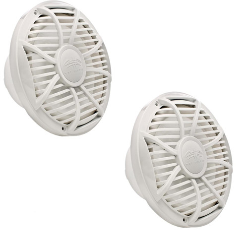 """Wet Sounds Subwoofer Package: Two 10"""" White 4-ohm Free Air Subwoofers (SW-10FAS4-WV2)"""
