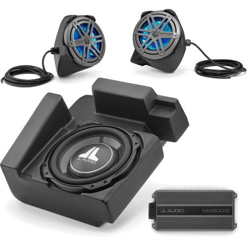 JL Audio Stealthbox® Bundle - Speaker Pods, Subwoofer & MX600/3 Amp for 2016+ Yamaha YXZ1000R