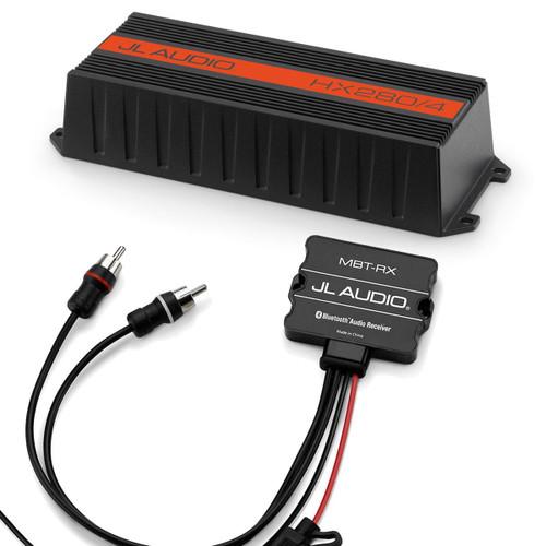 JL Audio HX280/4 amplifier and Bluetooth Receiver