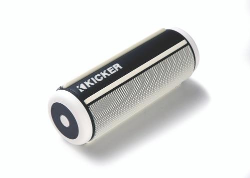 Kicker KPW2 Bluetooth wireless speaker - White