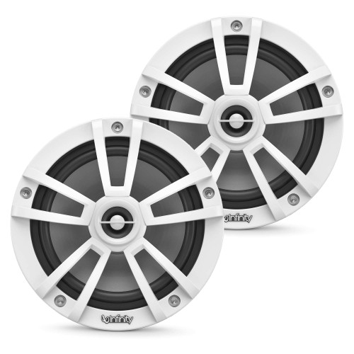 Infinity 622MW Marine 6.5 Inch Coaxial Speakers - White