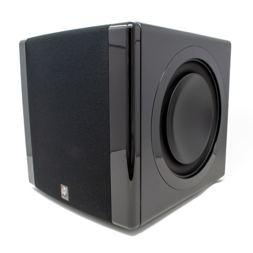"""Niles SW8 8"""" Compact Powered Home Theater Subwoofer With Dual Passive Radiators - 1200 Watt"""