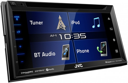 JVC KW-V350BT Multimedia Receiver with 6.8 Clear Resistive Touch Panel / iDatalink Maestro Ready / Bluetooth /13-Band EQ