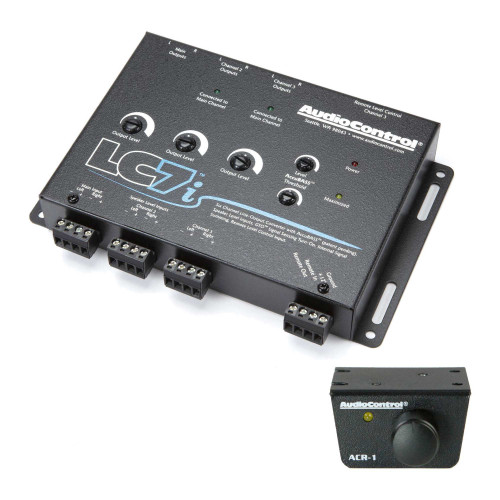 AudioControl LC7i 6 Channel Line Output Converter with Accubass & ACR-1 Dash Remote