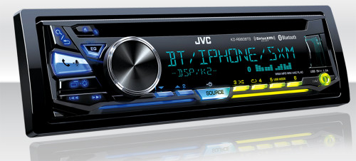 JVC Refurbished KD-R980BTS iPod & Android USB/CD Receiver with Bluetooth