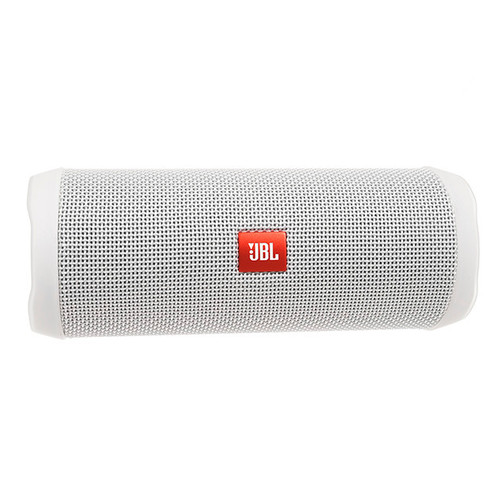 JBL Flip 4 full-featured waterproof portable Bluetooth speaker with surprisingly powerful sound – White