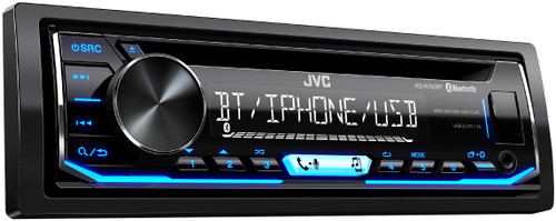 JVC Refurbished KD-R790BT CD Receiver featuring Bluetooth® / USB / Pandora / iHeartRadio / Spotify / FLAC / 13-Band EQ