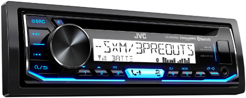JVC Refurbished KD-R99MBS Marine Motorsports iPod & Android CD Receiver with Bluetooth
