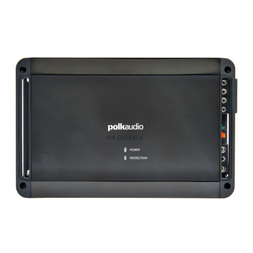 Polk PA D4000.4 Super Efficient Class-D bridgeable 4-channel Amplifier  - 125 RMS X 4 at 4-Ohms