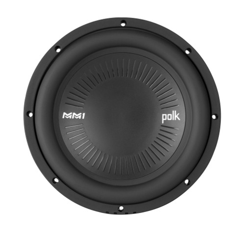 """Polk MM1042SVC 10"""" Single Voice Coil Subwoofer with Ultra Marine Certification"""