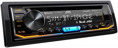 JVC KD-TD90BTS CD Receiver featuring Bluetooth® / USB / SiriusXM / Pandora / iHeartRadio / Spotify / 13-Band EQ