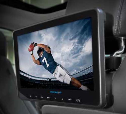 Audiovox AVX10USB Universal Seat-back Video system DVD/USB/SD/AV/Aux/HD - Open Box