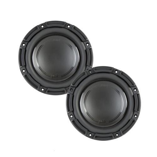 "Polk Audio -Two DB842SVC 8"" Single 4-Ohm Voice Coil Subwoofers, Bundle - Marine Certified"