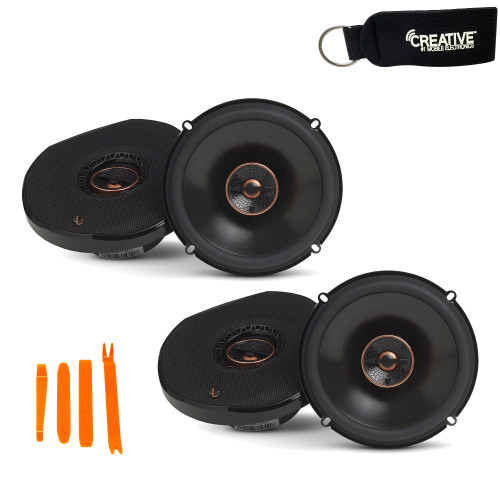 Infinity - Two Pairs Of REF-6532IX Reference 6.5 Inch Two-way car audio Speakers