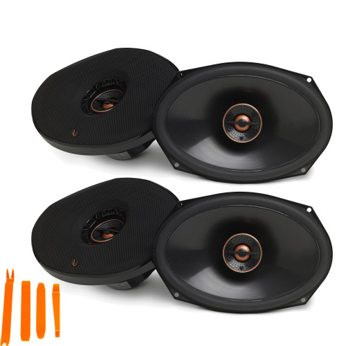 Infinity - Two Pairs Of REF-9632IX Reference 6x9 Inch Two-way car audio Speakers