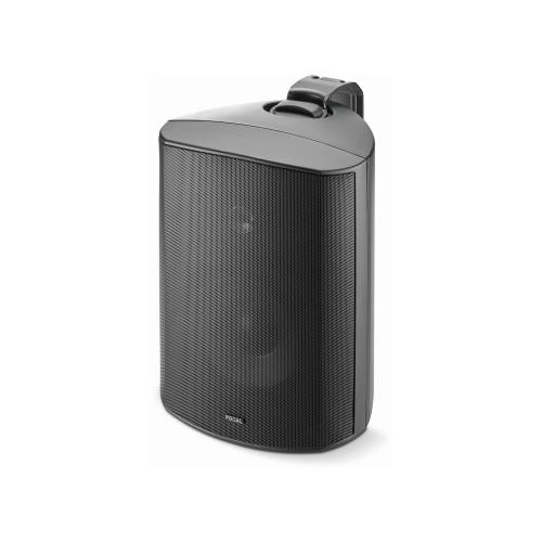 """Focal 100 OD6 6.5"""" Outdoor Loudspeaker, IP66 Rated - BLACK"""