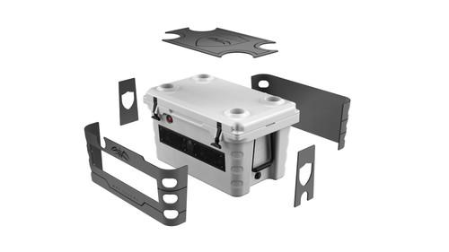 Wet Sounds SHIVR-55 Cooler GatorStep Full Skin Kit - Gray Over Black