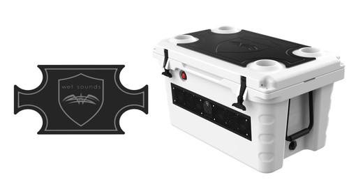 Wet Sounds SHIVR-55 Cooler GatorStep Top Skin Kit - Black Over Gray