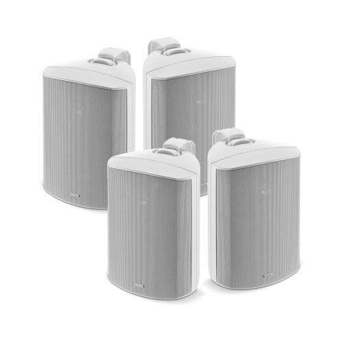 "Focal 100 OD6 6.5"" Outdoor Loudspeakers, IP66 Rated - White Pairs, 4 Speakers"