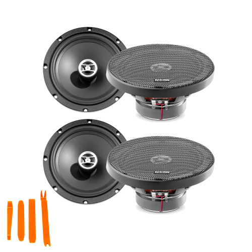 """Focal Auditor Bundle - Two pairs of Focal RCX-165 Auditor Series 6.5"""" 2-Way Coaxial Speakers"""