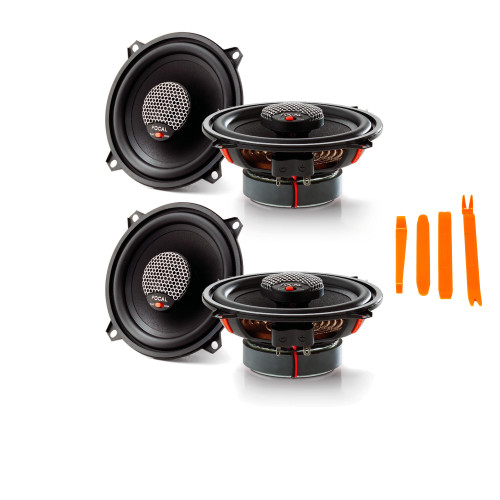 """Focal Integration Bundle - Two pairs of Focal ICU-130 Integration Series 5.25"""" Coaxial Speakers"""
